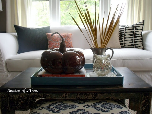 Number Fifty-Three: My Autumn Coffee Table Styling