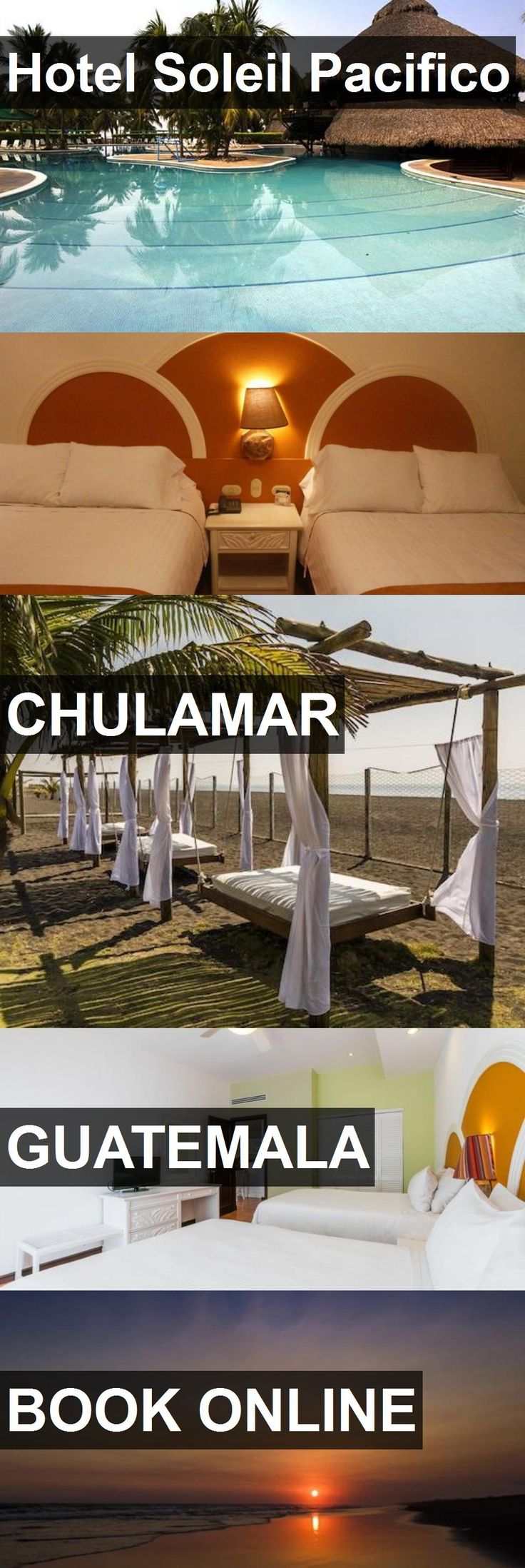 Hotel Soleil Pacifico in Chulamar, Guatemala. For more information, photos, reviews and best prices please follow the link. #Guatemala #Chulamar #travel #vacation #hotel