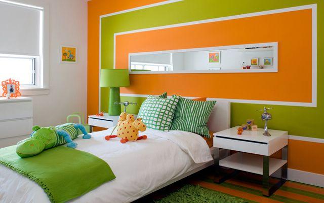 Ideas para pintar las paredes con motivos geométricos