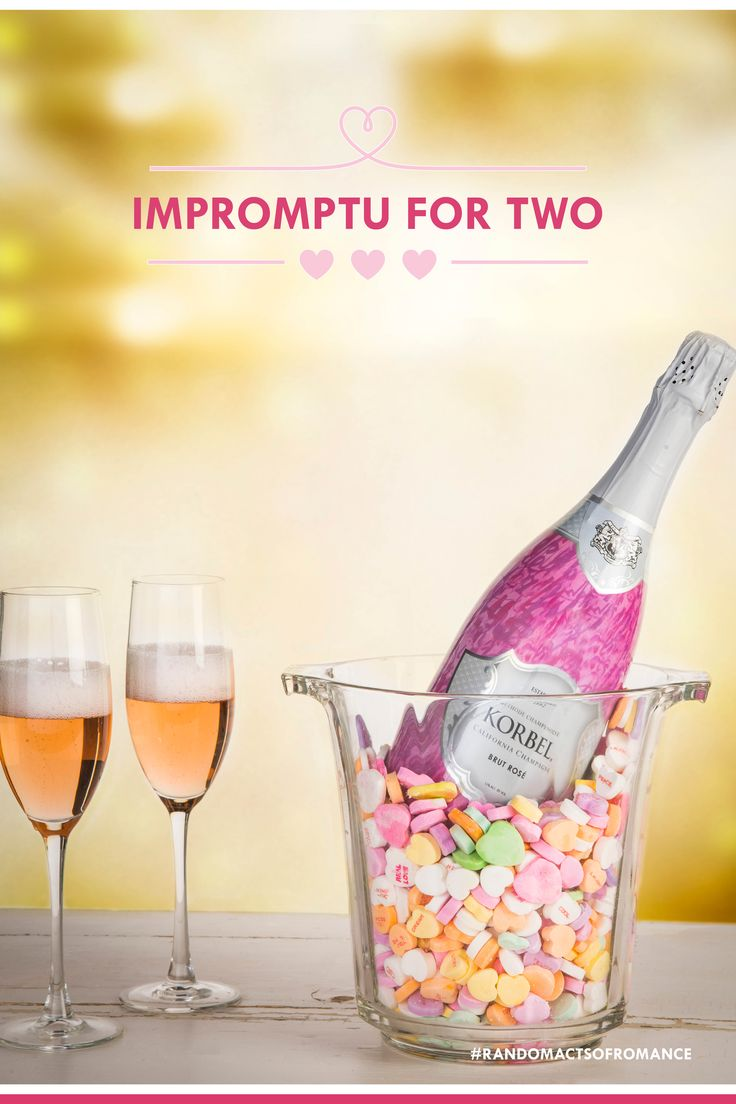 Looking for a spontaneous way to celebrate your loved one? Break out the KORBEL and toast life with the Limited Edition Love Notes Brut Rosé! It will be the highlight of their day.