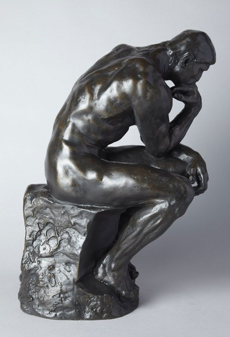 The #Thinker, 695 € / © Musée #Rodin, photographer : Florian Claudel / http://boutique.musee-rodin.fr/en/sculpture-reproductions/71-the-thinker-3533231000091.html