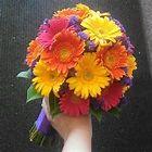 Hot pink, yellow, orange, purple wedding | Hochzeit | Pinterest
