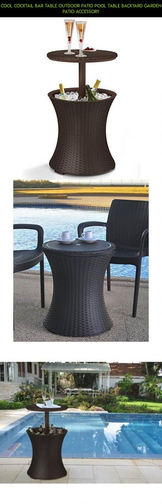 Pool table legs accessories for sale - Cool Cocktail Bar Table Outdoor Patio Pool Table Backyard Garden Patio Accessory Drone Camera