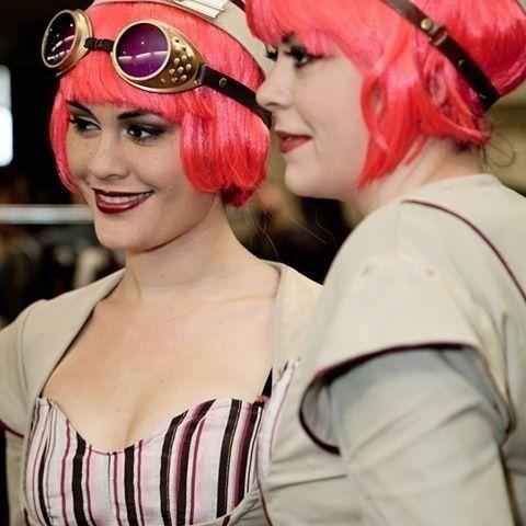 Steampunk Airship Hostess