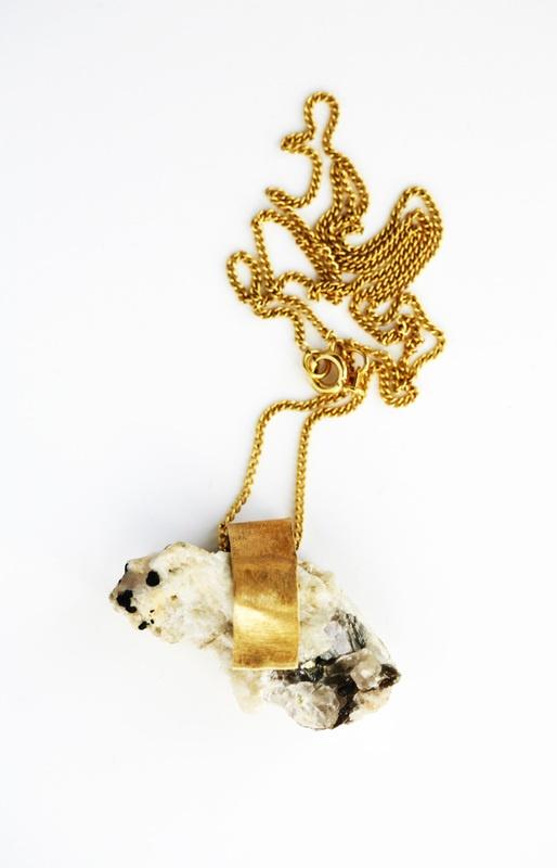 LOVE raw stone jewelry ... by Nallik #MidnightBoheme #SS14 Trend Inspiration