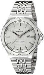 Edox Women's 54004 3M AIN Delfin Analog Display Swiss Quartz Silver Watch