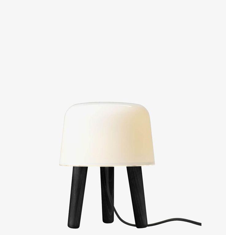 Bordlampe MILK Black