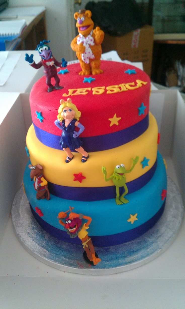 Muppets Cake Childrens Film Themed Birthday Cakes