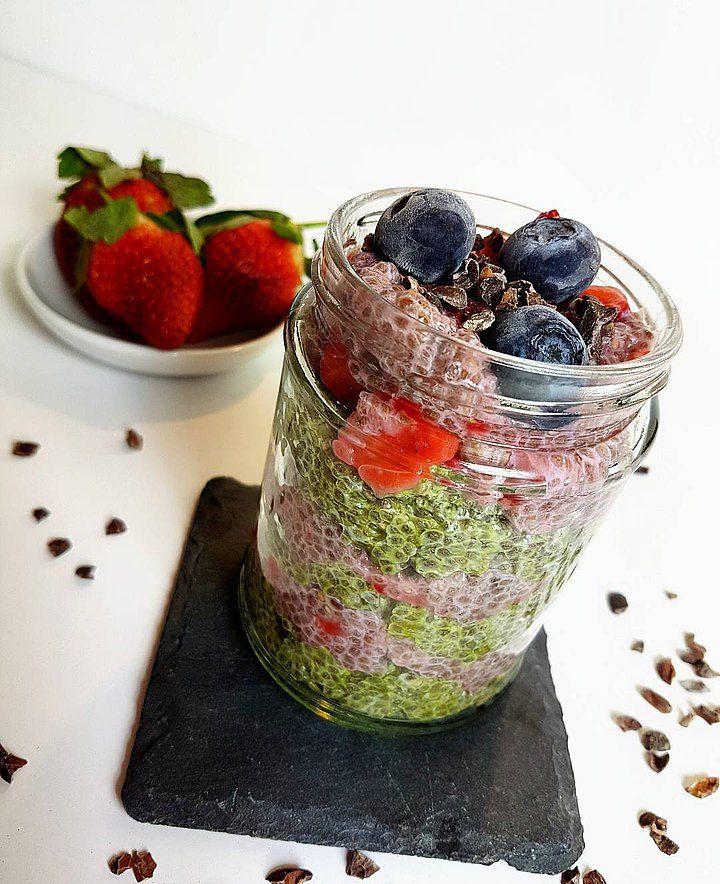 Bright and Breezy Breakfast Jar Recipe by BreakfastByBella