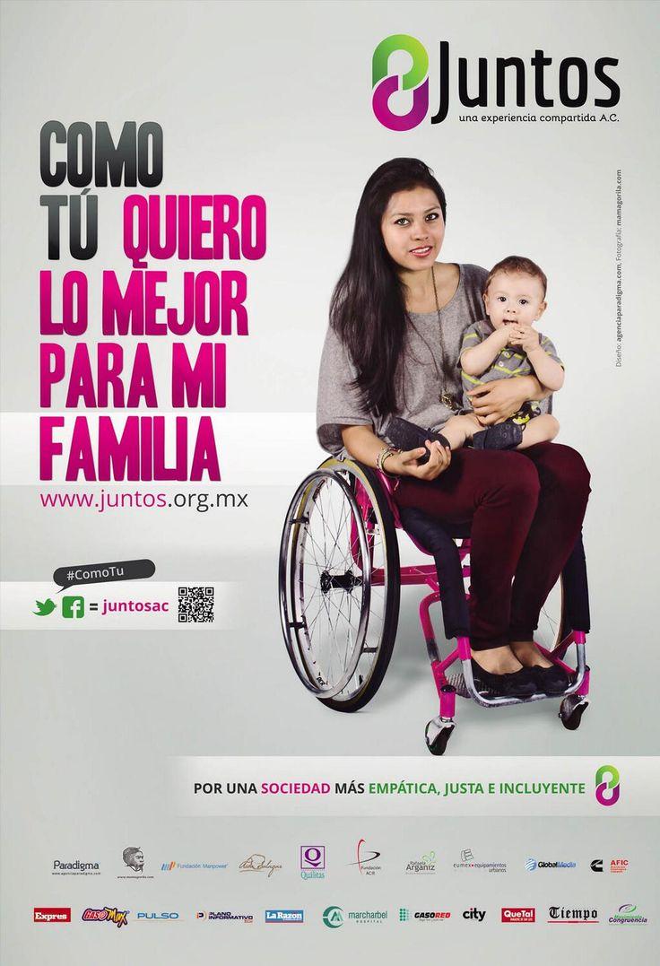 #ComoTu , amamos a nuestra familia #discapacidad