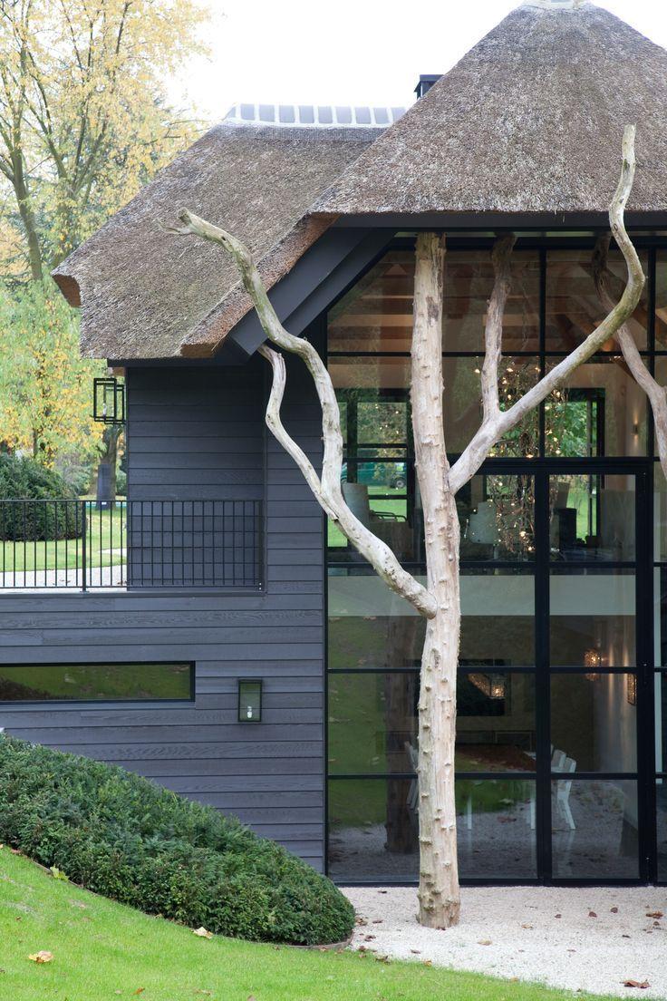 Afbeeldingsresultaat voor oud en nieuw architectuur wonen glas