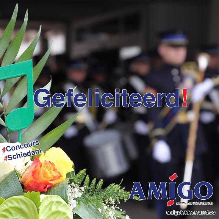 AMIGO Leiden feliciteert alle deelnemers van Concours Schiedam met hun behaalde resultaat! Korpsmuziek.nl Ballistic Brass | #korpsmuziek #concours