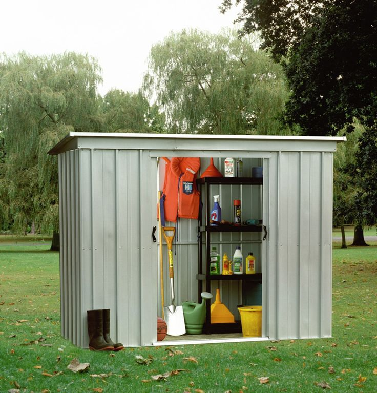 Yardmaster 84PZ 8x4 Metal Shed