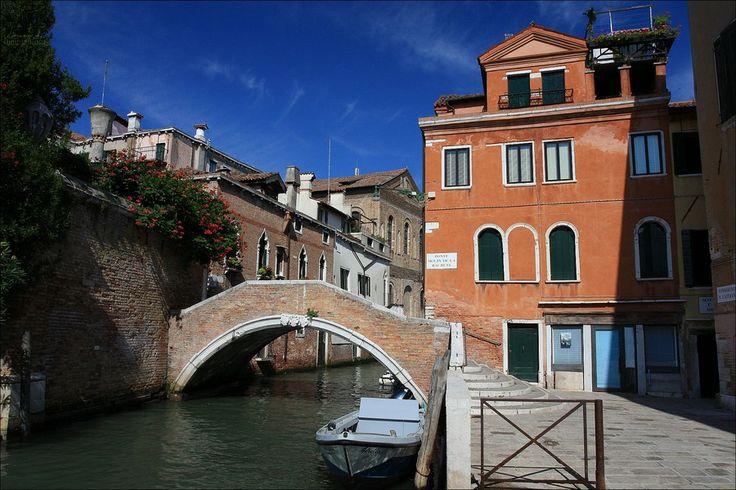 Fondamenta e rio di Santa Caterina - Cannaregio sestiere - Venezia - Veneto - Italy