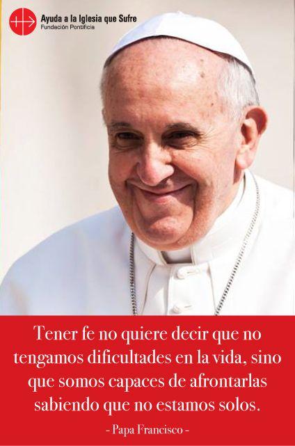 #oraciones #oración #religión #católica #Dios #amor #fe #frases #Jesús #camino #bendiciones #bendición #confianza #esperanza #ParaFrancisco #Francisco #Papa #iglesiaquesufre #ayudaalaiglesiaquesufre #AIS #Colombia