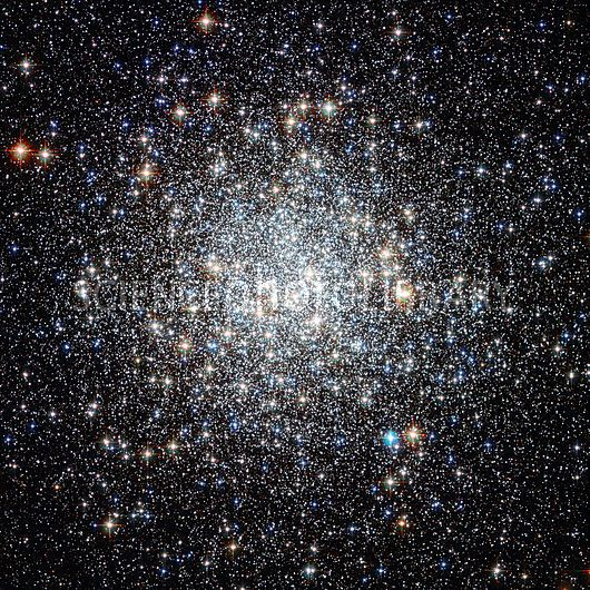 M9 globular cluster. Combined optical and infrared image of the Messier 9 (M9) globular star cluster. Credit: NASA/ESA/STSci/ Science Photo Library