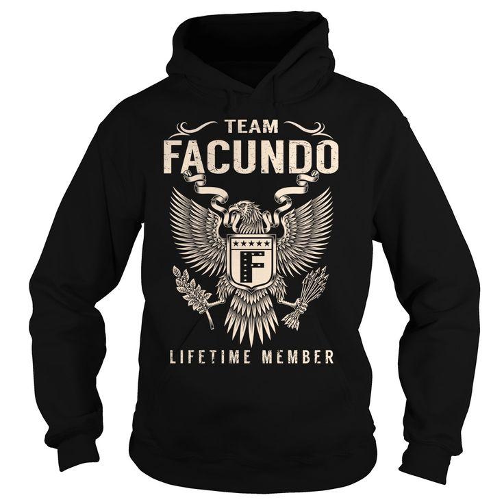 Team FACUNDO Lifetime Member - Last Name, Surname T-Shirt