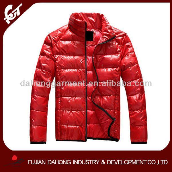Мужская зимняя куртка большого размера 14137-157 Красная