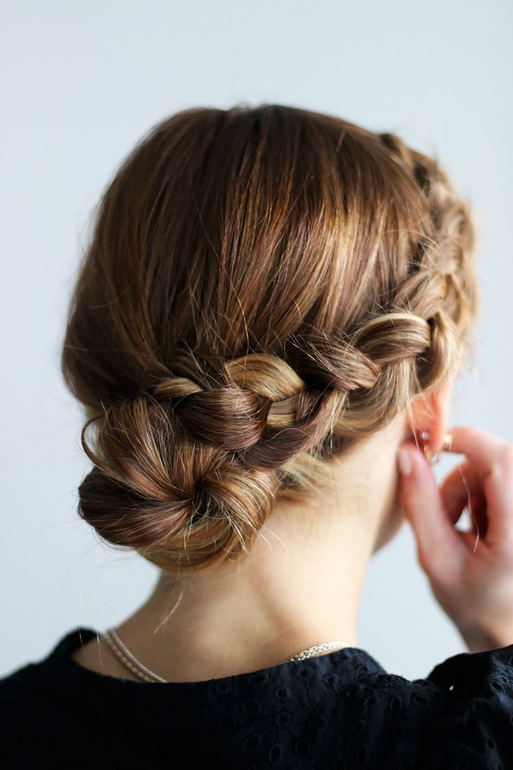best 25 braided buns ideas on pinterest how to braid