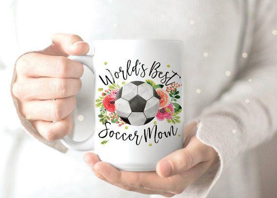 Mamá de fútbol Mug  taza  taza divertida para por lovealicemugs