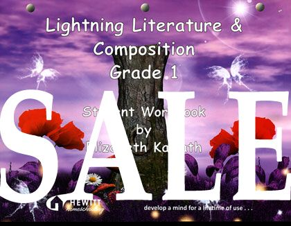 SALE: 25% off Lightning Literature Grade 1