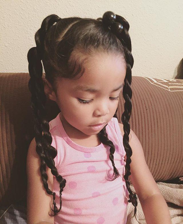 Superb 1000 Ideas About Black Kids Hairstyles On Pinterest Kid Short Hairstyles Gunalazisus