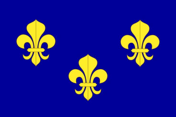 Pavillon royal de la France - Drapeau de la France — Wikipédia