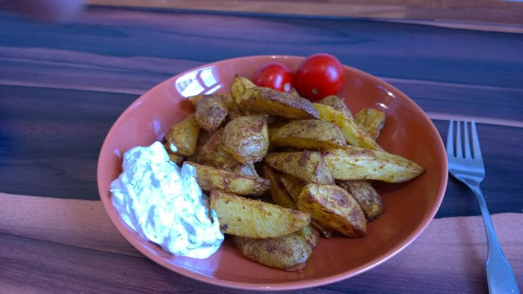 Kartoffelecken selber machen, Voll lecker! Low Cal, wenig Fett!