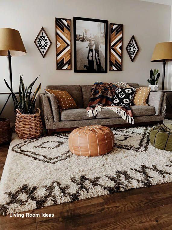 Cozy Living Room Decor For Small Modern Boho Or Rustic Living Rooms In 2020 Bohemian Living Room Decor Colourful Living Room Warm Home Decor #small #rustic #living #room #ideas