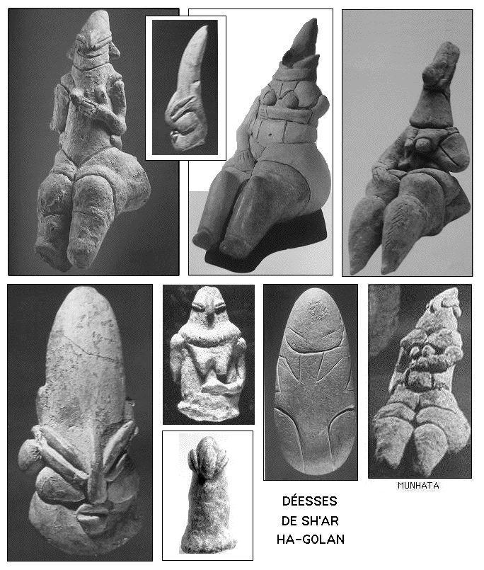 Les anciens sémites du sud (sous influence africaine) adoraient une trinité céleste: -Le Dieu de la Lune (Yareakh) -La Déesse du Soleil (S...