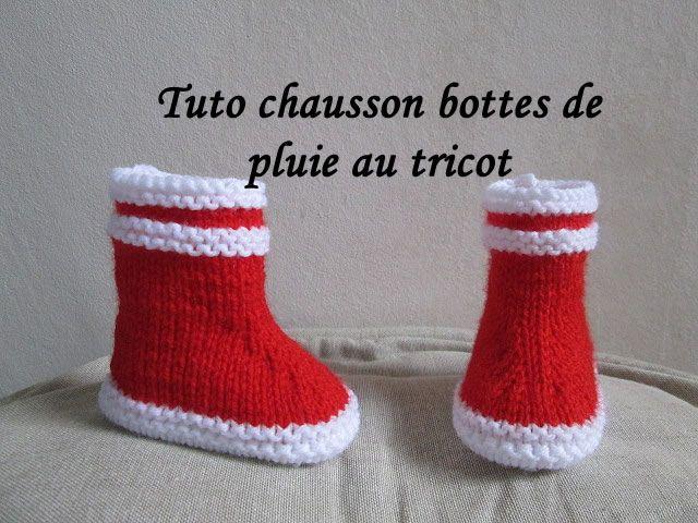 bottes bébé tricot, bottes pluie bébé tricot, chausson botte bébé tricot, botte aigle tricot, botte aigle bébé au tricot, aigle tricot, botte caoutchouc bébé au tricot, bottes de pluie bébé tricot,