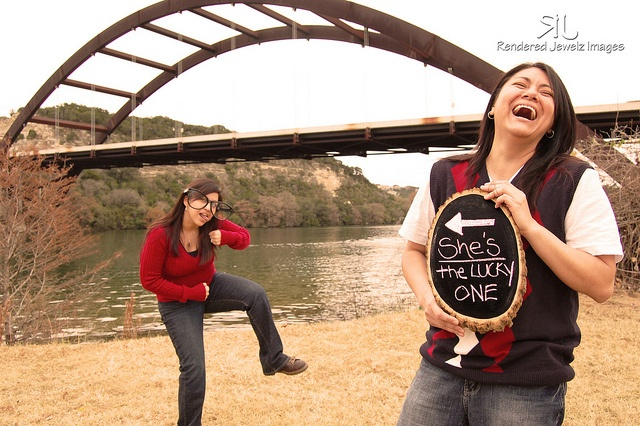 Laughter is the key to happiness! by Rendered Jewelz Images, via Flickr    Gay Engagement Photography  Funny Engagement Photography