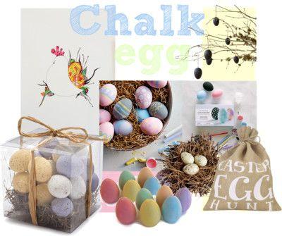 Chalk Egg