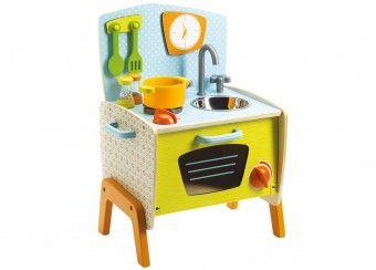 prachtig rollenspel koken met Gaby DJECO | kinderen-shop Kleine Zebra