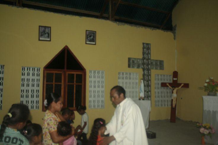 Tanggal 1 – 4 September 2016, sudah kami jadwalkan untuk mengadakan kunjungan Pastoral ke Umat Kapela Manubelon. Perutusan seorang imam selalu menjadi rahmat bagi umat setempat. Sejak p…