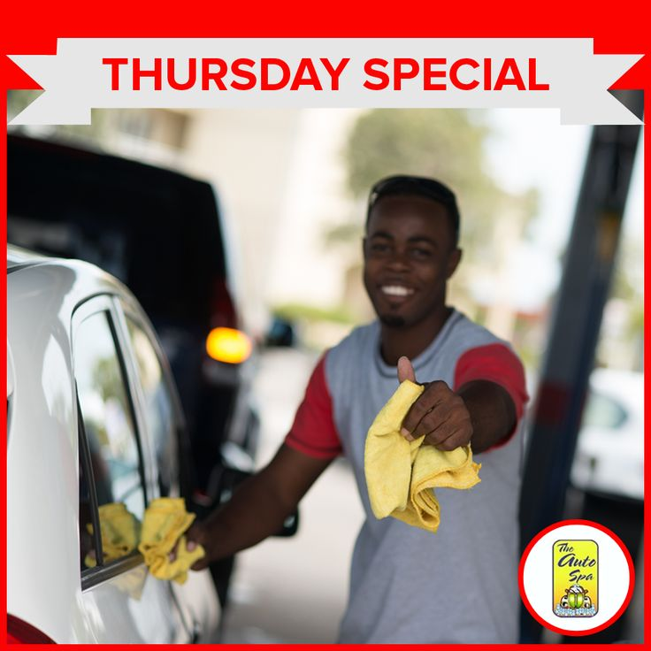 Thursday Special!  $5 off full service for ladies and senior citizens.  #autospa #carcleaning #carwash #Thursday #specials #cardetailing #CaymanIslands
