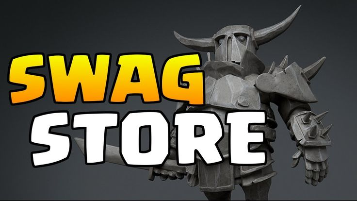Clash of Clans - Supercell Swag Store Beta - Get Some Swag