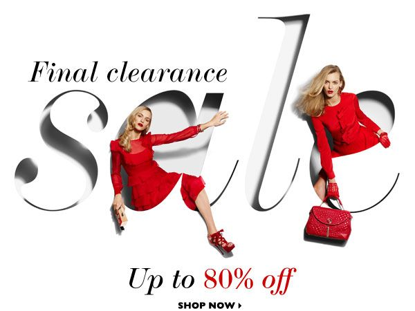 Final Clearance Sale email design