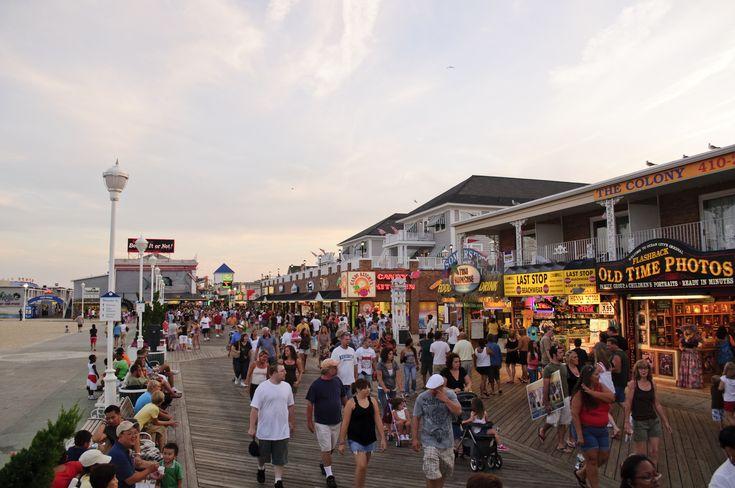 Ocean City, Maryland best beach Mid-Atlantic to Maine.