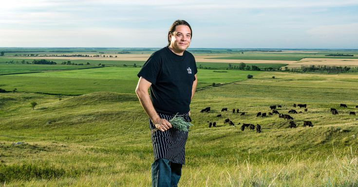 """""""The Movement to Define Native American Cuisine"""" from LAKE TRAVERSE INDIAN RESERVATION, N.D. with Chef Sean Sherman a.k.a. the Sioux Chef"""