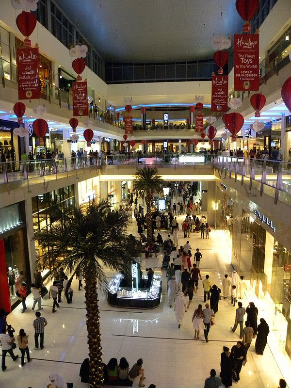 Shopping Experience in  Dubai Mall.