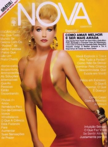 Xuxa Meneghel for Brazilian Cosmo