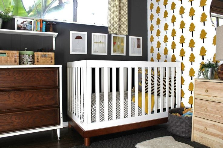 This beautiful, contemporary Baby Mod Olivia 3-in-1 amber and white baby crib will make the perfect centerpiece for your modern nursery furniture. The unique Olivia baby crib is spaciously designed for baby's comfort and features a four-level mattress spring system that adjusts to your infant's growth. Available at Walmart!