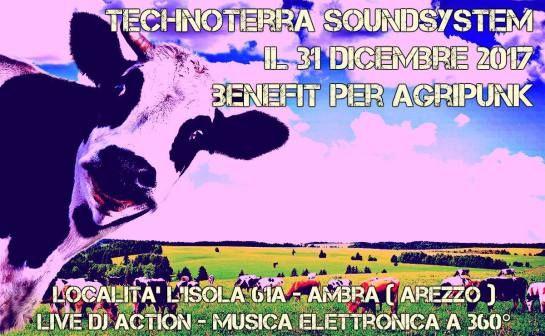 Il 31 di Dicembre 2017 non prendetevi altri impegni: una serata all'insegna della solidarietà inter-specifica, del buon cibo e della musica techno! Evento unico per chiudere in bellezza il 20…