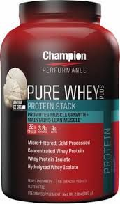 Champion Performance Pure Whey Plus | Vanilla Ice Cream Review