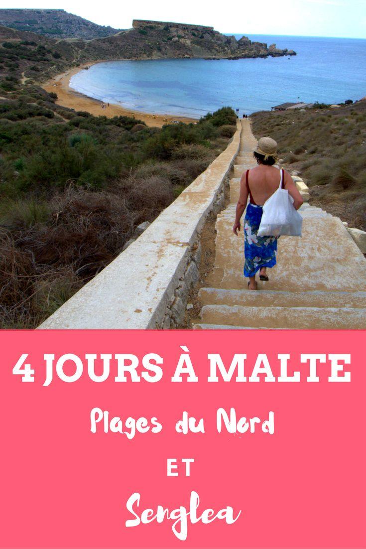 Dernier épisode de lce séjour à Malte. But de l'excursion ?  La pointe nord-ouest de l'île et la plage Golden Bay et ensuite retour vers le sud et, Segnlea, l'une des Trois Cités.