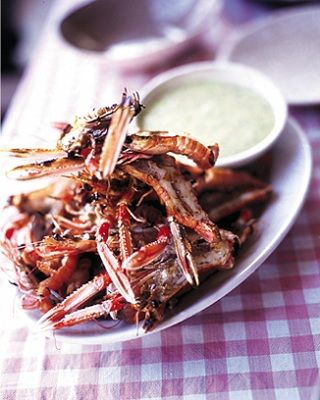 TableCrowd blog: Delicious Barbecue Alternatives - Langoustines