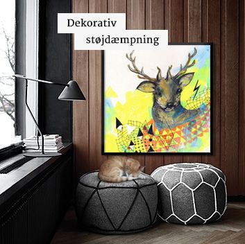 Illux.dk - trendy vægdekoration. Foto på lærred, billede collage mm.