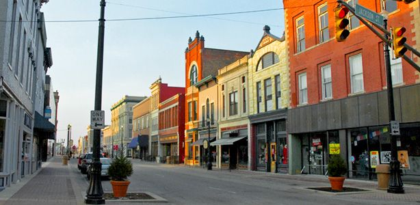 """My novel """"Hometown News"""" was originally going to be called """"Rust Belt."""" It takes place in a small industrial city with scenes like this. Muncie, Indiana."""