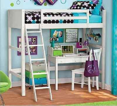 Ideas for the ultimate tween girl bedroom: full of fun, fur, fuzzy stuff and bright colors! #FindItFollowIt #sponsored